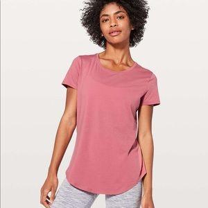 NWT Lululemon Pink Tee Shirt